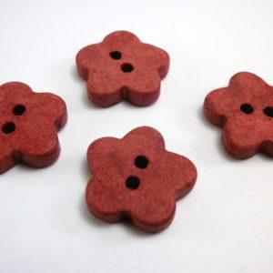 boton flor roja
