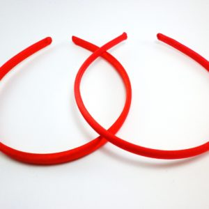 felpa forrada de raso roja