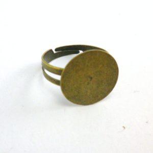 base redonda anillo