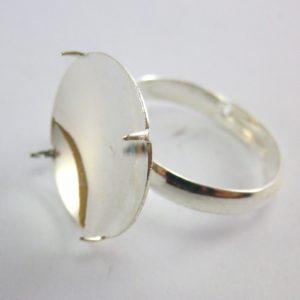 base redonda para anillo