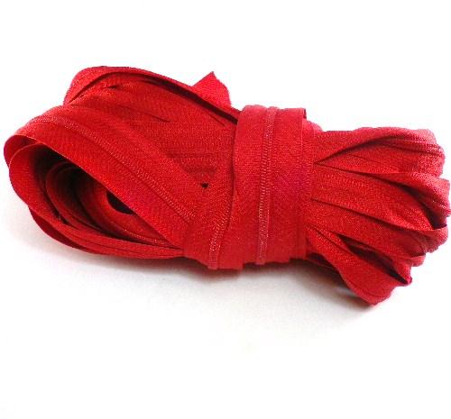 cremallera roja
